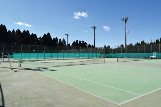 笠原向島テニスコート